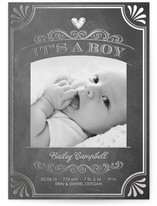 It's a Boy Vintage Chalkboard