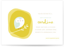 Woodland Nest Baby Shower Invitations