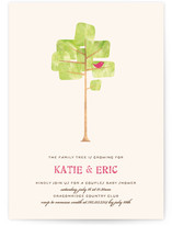 Family Tree Baby Shower Invitations