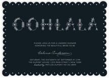 Ooh La La Chic Bridal Shower Invitations