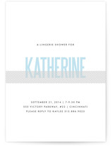 Revealing Bridal Shower Invitations