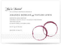 Vino Bridal Shower Invitations