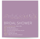 Night Lights Bridal Shower Invitations