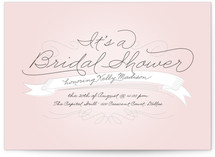 Perfect Penmanship Bridal Shower Invitations