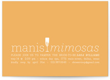 Manis & Mimosas Bridal Shower Invitations