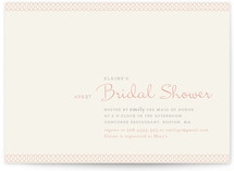Dainty Dip Bridal Shower Invitations