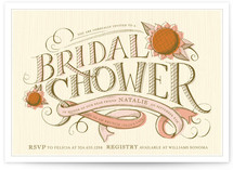 Farmers' Market Bridal Shower Invitations
