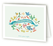 The Birds and the Bees Birth Announcements Thank You Cards