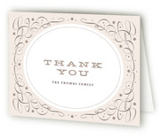 Vintage Charm Birth Announcements Thank You Cards