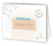 Gift from Above Birth Announcements Thank You Cards