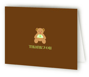 Teddy Bear Birth Announcements Thank You Cards