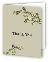 Tree Branch Birth Announcements Thank You Cards