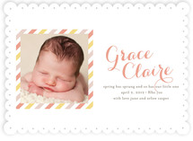 Spring Arrival Birth Announcements