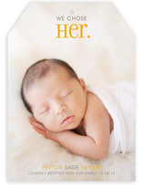 Chosen Birth Announcements
