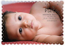 1er Hola Birth Announcements