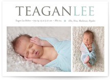 Little Flower Birth Announcements