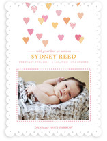Hearts Abound Birth Announcements