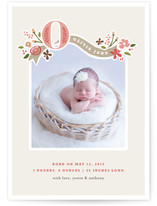 Fairy Tale Beginnings Birth Announcements