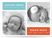 Modern Multiples Birth Announcements