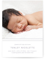 XOXO Birth Announcements