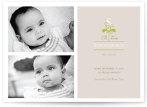 our little sprout Birth Announcements