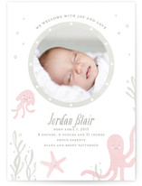 Sea Creatures Birth Announcements