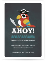 Yo Ho Ho! Children's Birthday Party Invitations