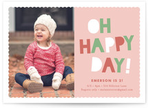 Happy Day Children's Birthday Party Invitations