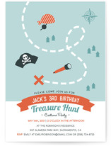 Treasure Hunt Party by Four Wet Feet Design