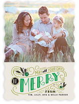 Be Merry Matchbook