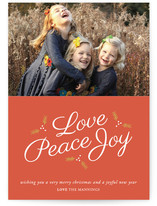 Love Peace & Joy by Antler and Antler