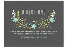 Botanical Blooms Directions Cards