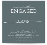 Tied Together Engagement Party Invitations