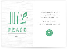 Joy and Peace