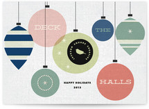 Retro Deck the Halls by Oak Street Press