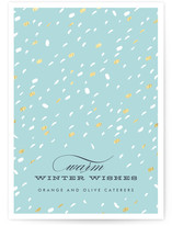 Confetti Wishes Business Holiday Cards