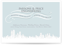 Holiday City Business Holiday Cards