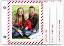 Candy Cane Christmas Holiday Minibook™ Cards