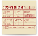 Season's Greetings Chec... by i heart design studio