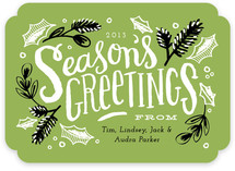Season's Greetings Greenery