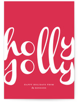 Holly Jolly Script