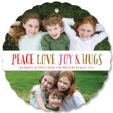 Peace Love Joy Hugs by Melanie Severin