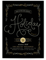 Chavignon Holiday Party Invitations