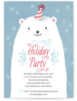 Polar Bear Party by Four Wet Feet Design