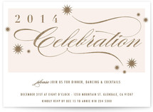 Celebration Holiday Party Invitations
