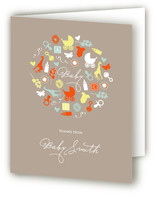 Oh Baby Baby Shower Thank You Cards