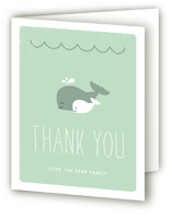 The Arrival of a Little Squirt Baby Shower Thank You Cards