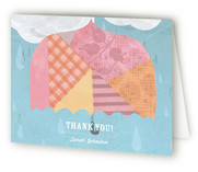 Rainy Day Baby Shower Thank You Cards