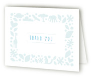 Petite Jungle Frame Baby Shower Thank You Cards