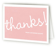 Girl! Baby Shower Thank You Cards